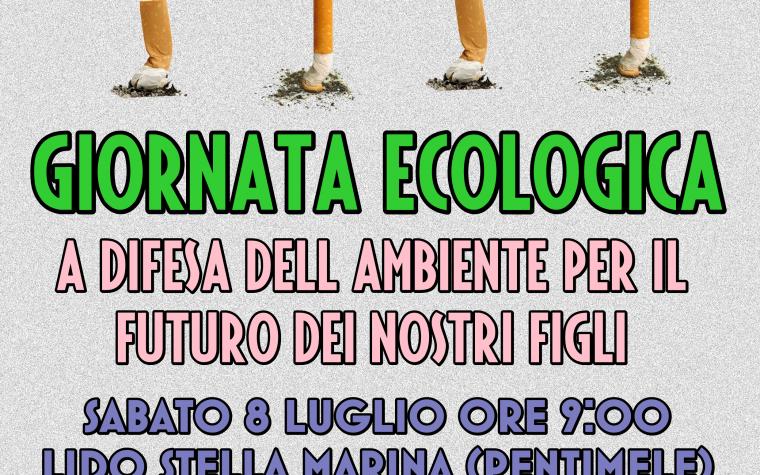 """Ad Archi la prima giornata ecologica """"BASTA MOZZICONI A TERRA"""""""